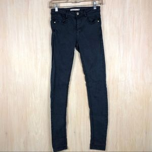 Zara Denim Makers Dark Blue Skinny Jeans 6